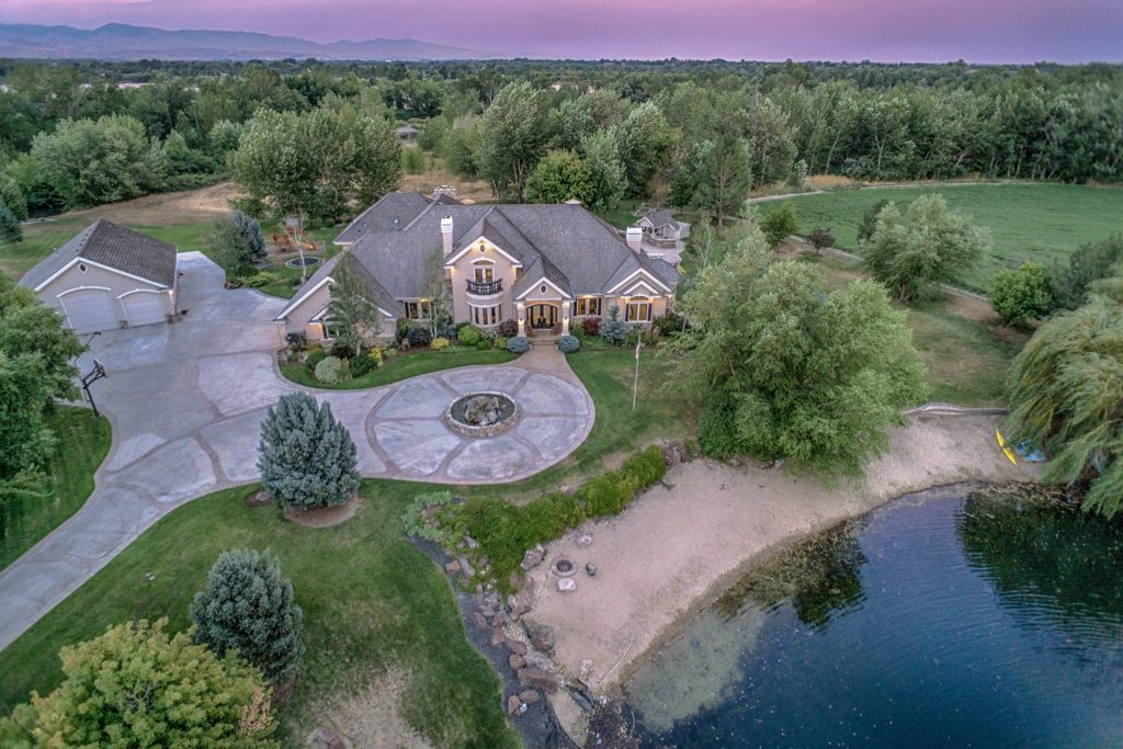 Eagle Idaho Luxury Estate Home by Steven Caporale